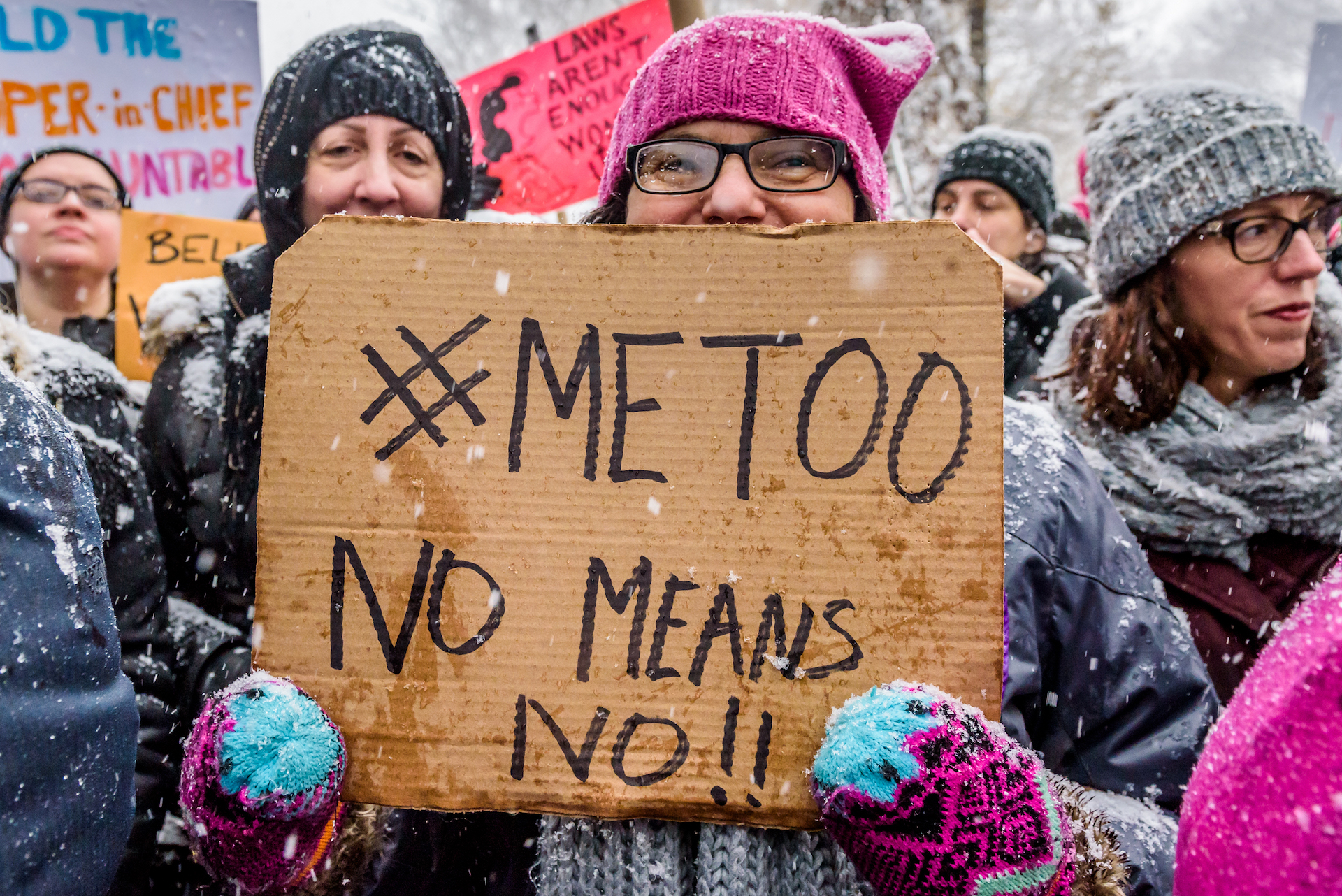 Sexual Assault Hotlines Are Feeling The Impact Of Metoo