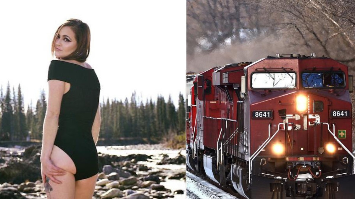 Female Railway Conductor Fired by Her Company for Posting