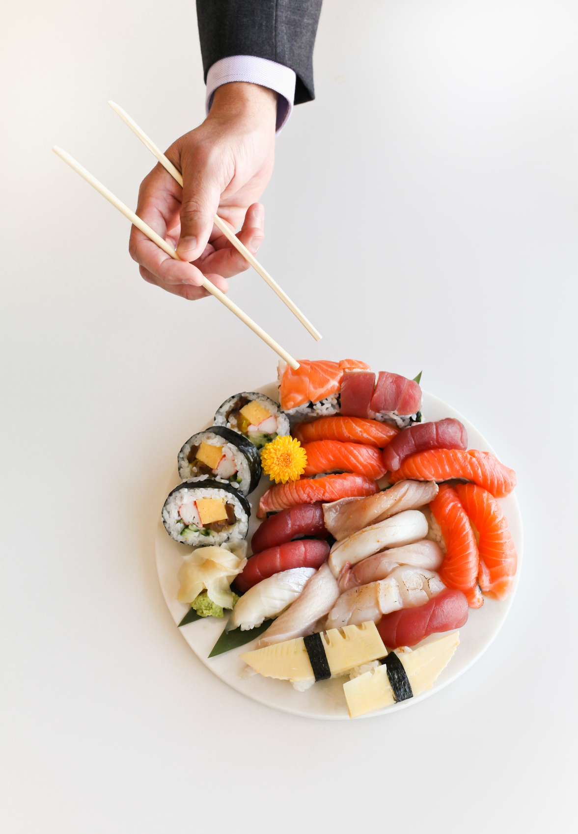 Is too much sushi bad for you