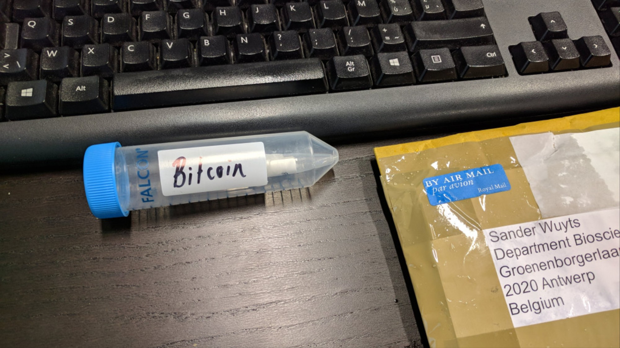 A Piece of DNA Contained the Key to 1 Bitcoin and This Guy