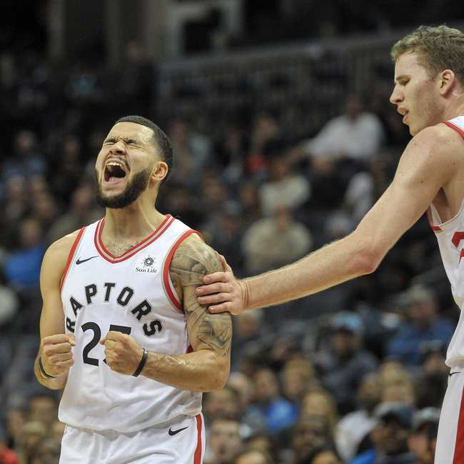 50c46414233 Jurassic Spark: The Raptors Have the NBA's Best (and Funniest) Bench ...