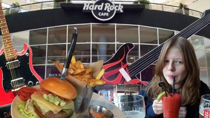 La fille qui voulait tester tous les Hard Rock Cafes