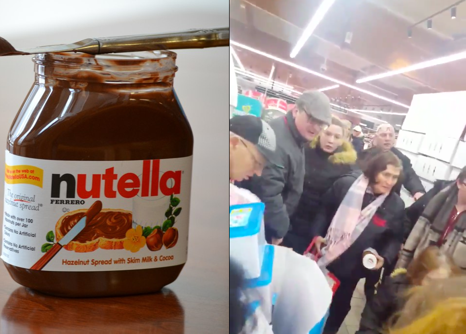 Chaos Ensues After French Supermarket Reduces Price of Nutella