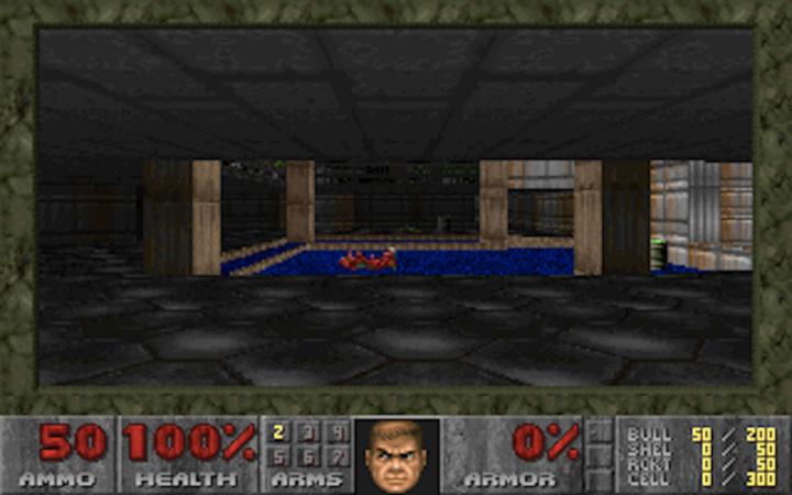 This CPU Exploit-Safe Version of 'Doom' Runs at .00003 FPS