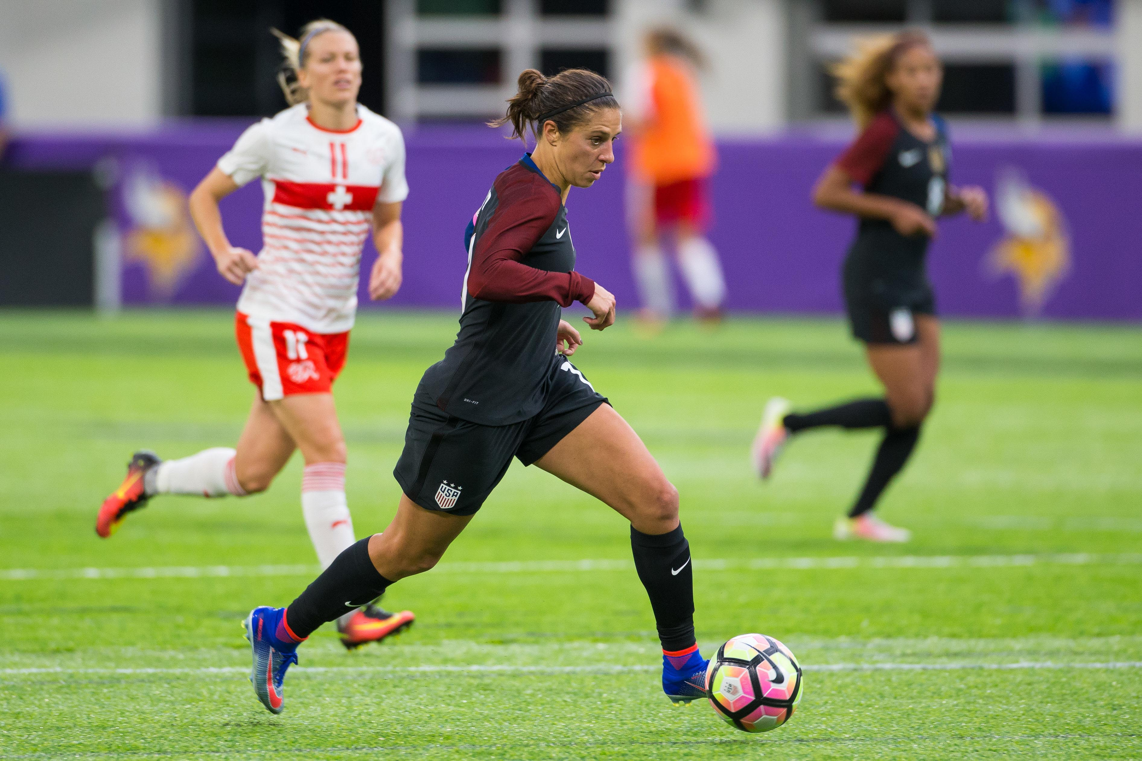 Carli Lloyd Is Right Where She Wants To Be Home Vice