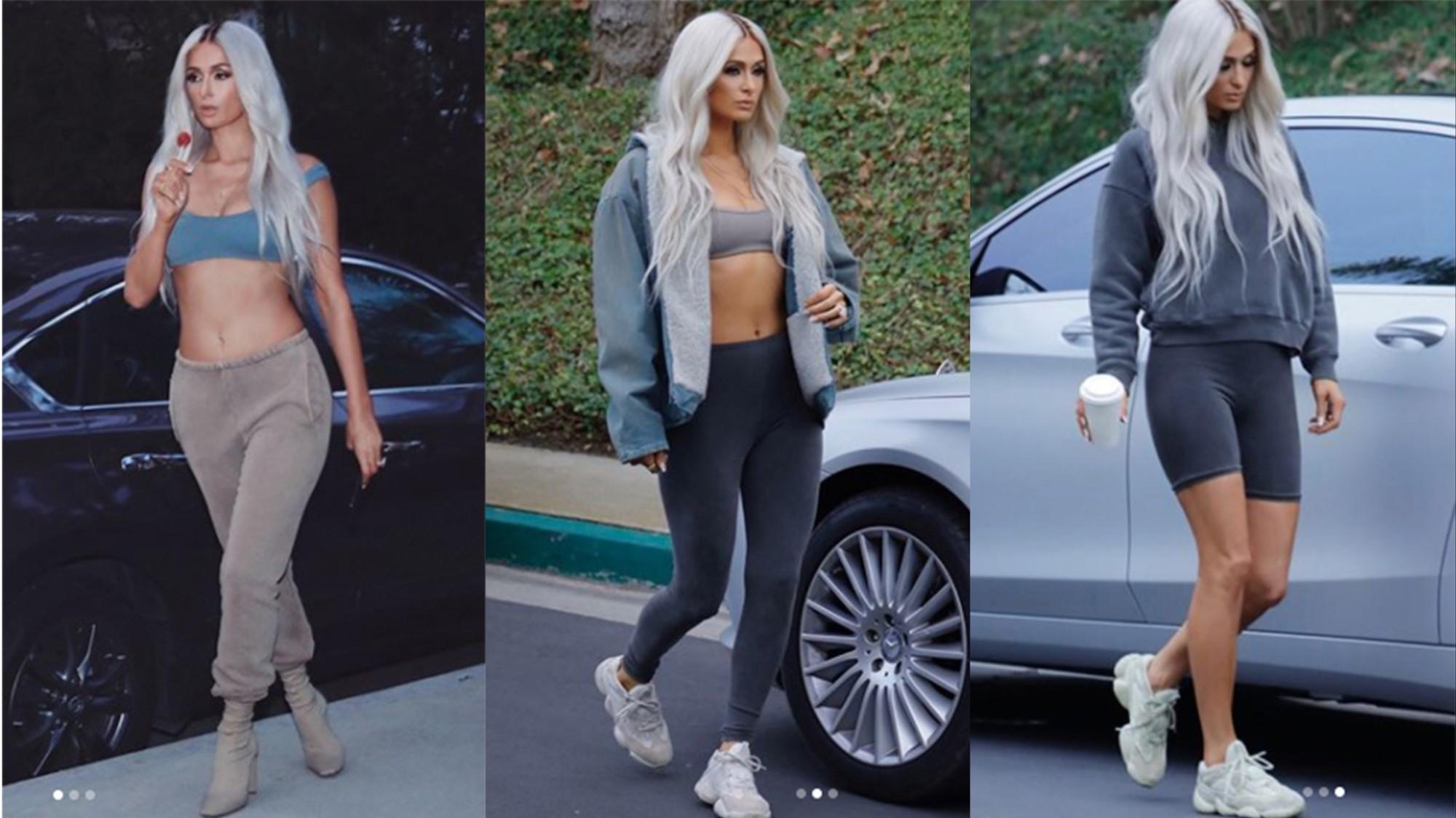 Guardaroba Di Paris Hilton.Quella Nelle Foto Non E Kim Kardashian Ma Paris Hilton I D