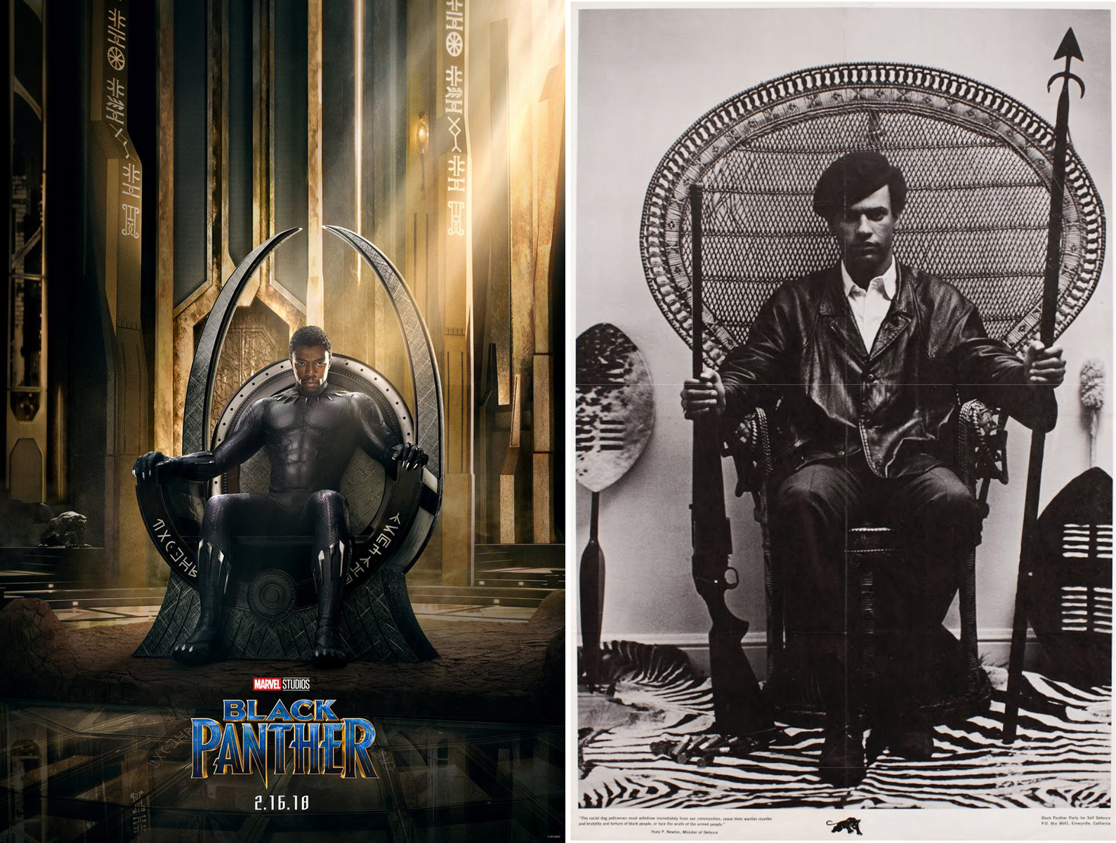 Why Every Black Panther Fan Is Tweeting About This Wicker