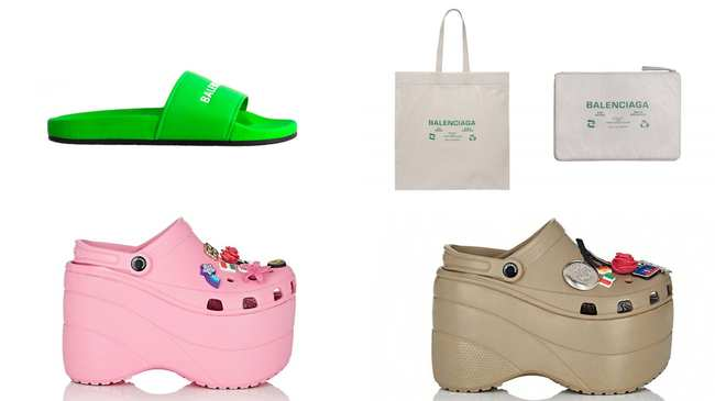 32db32c77f7d get yourself a pair of balenciaga s platform crocs or pool sliders - i-D