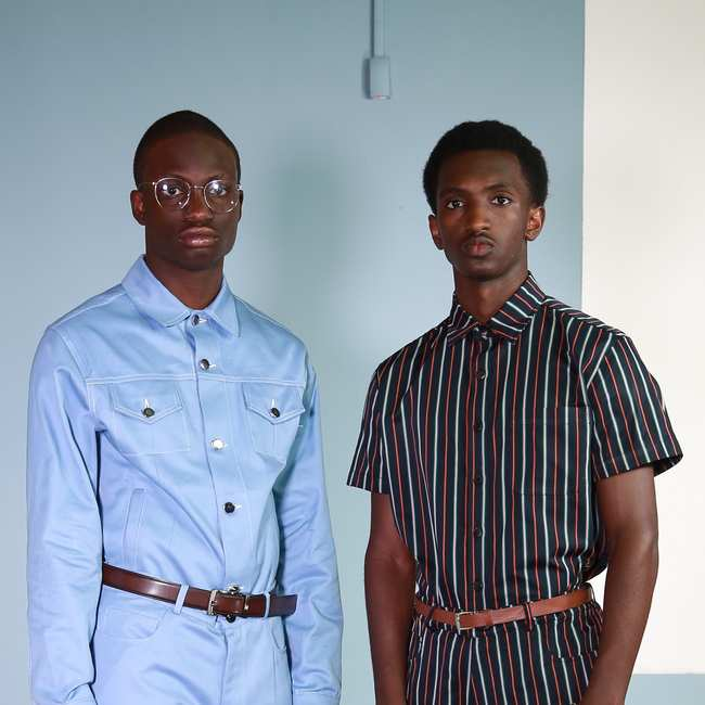this 19-year-old nigerian designer is already showing at nyfw - i-D