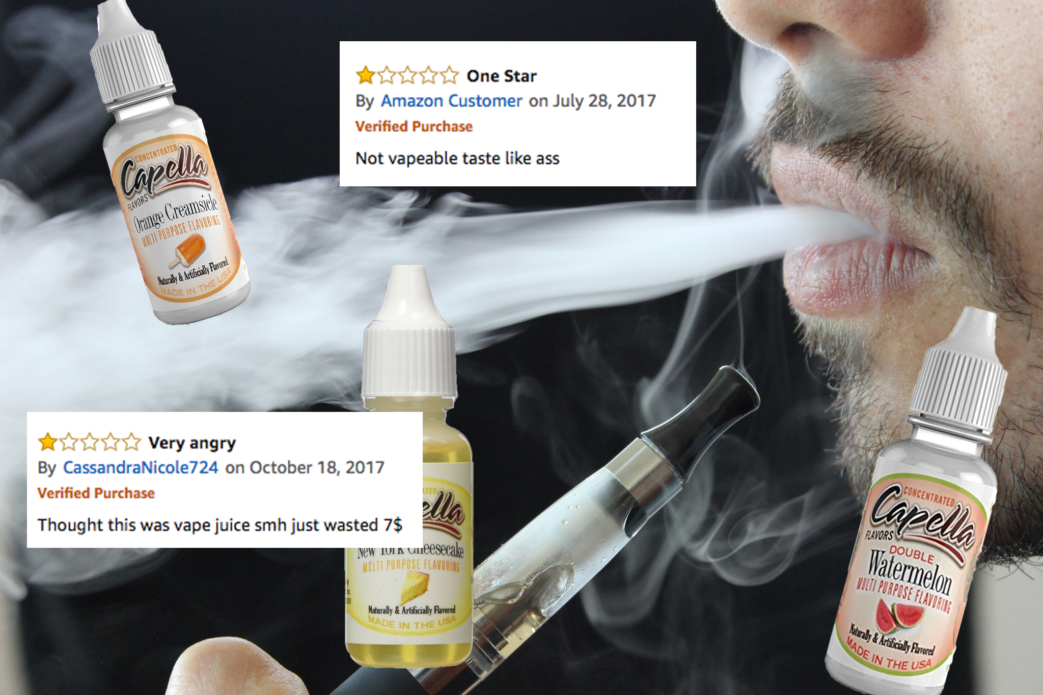 Confused <b>Amazon</b> Buyers Keep Trying to Vape Concentrated Food ...