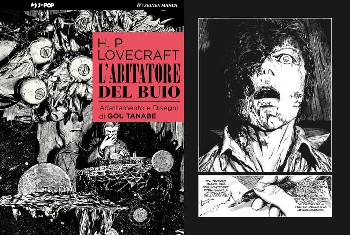 Questo manga su Lovecraft ti farà avere paura di impazzire