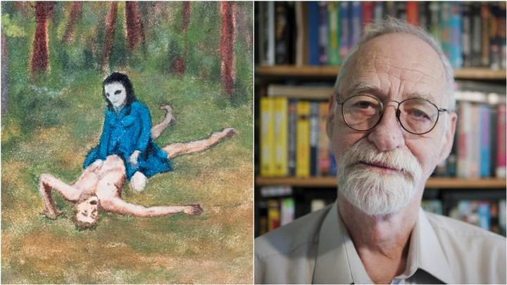 Ce mec peint les relations sexuelles qu'il aurait eues avec des extraterrestres