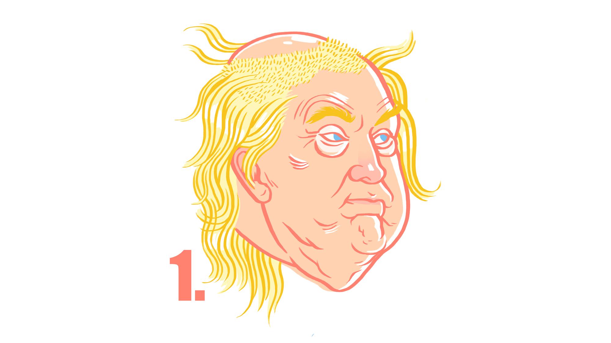 So Stylst Du Dir Die Haare Wie Donald Trump Vice