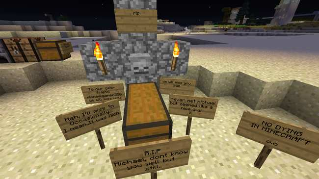 a minecraft fan is using data mining techniques to retrieve players in game journals and correspondence some of which is inspiring depressing