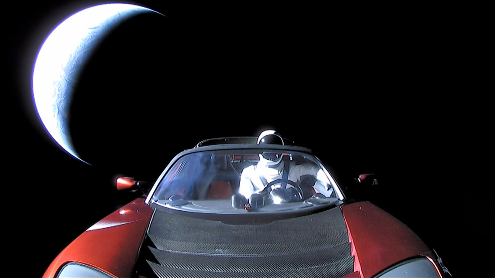 This Website Lets You Track Elon Musk's Sports Car Through Space