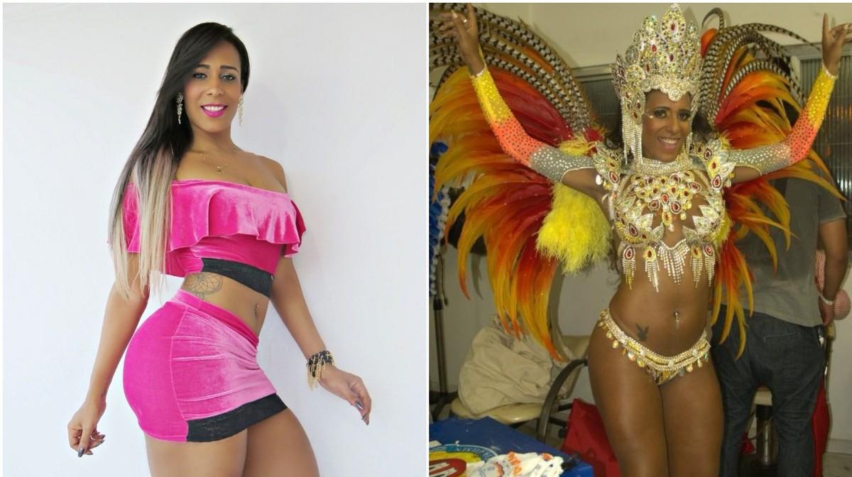 Transexual brazilian lynn anal stockings