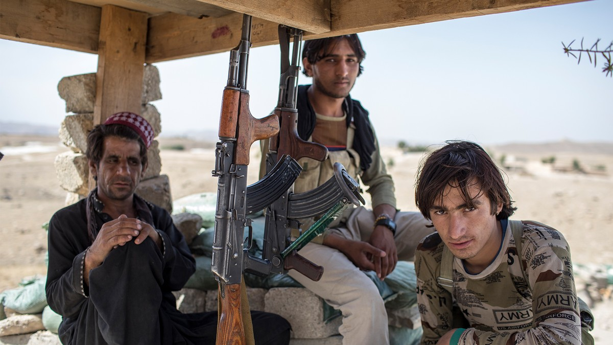 Afghanistan army forces push back Taliban attacks - GFATF