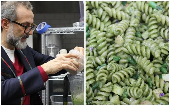 Einer der besten Köche der Welt gibt uns das Rezept für ein günstiges, geniales Pesto