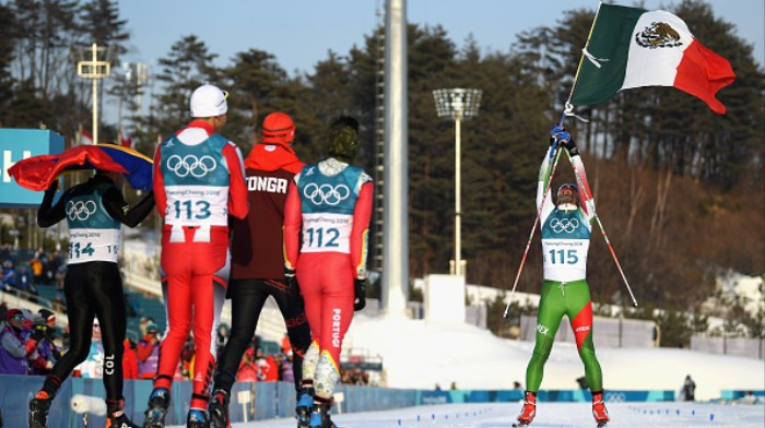 Mexico's Cross-Country Skier Finishes Last, Wins Olympics