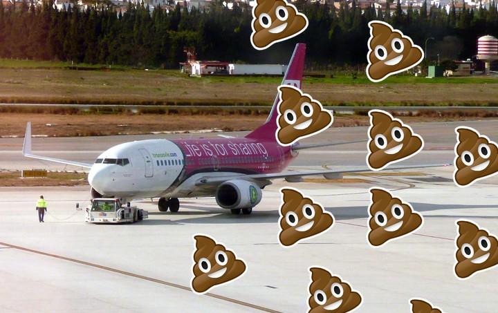 Alguém peidou tão fedido num avião que eles tiveram que pousar na Áustria e chamar a polícia