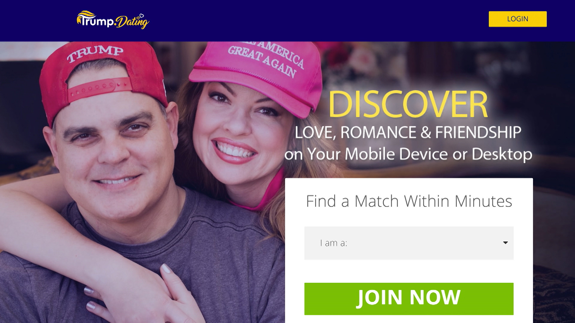 dating website spoof