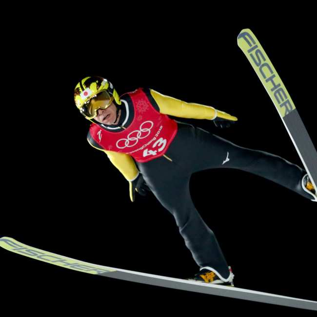 Winter Olympics Having To Relearn All >> Noriaki Kasai Is The World S Oldest Ski Jumper And A Goddamn Legend