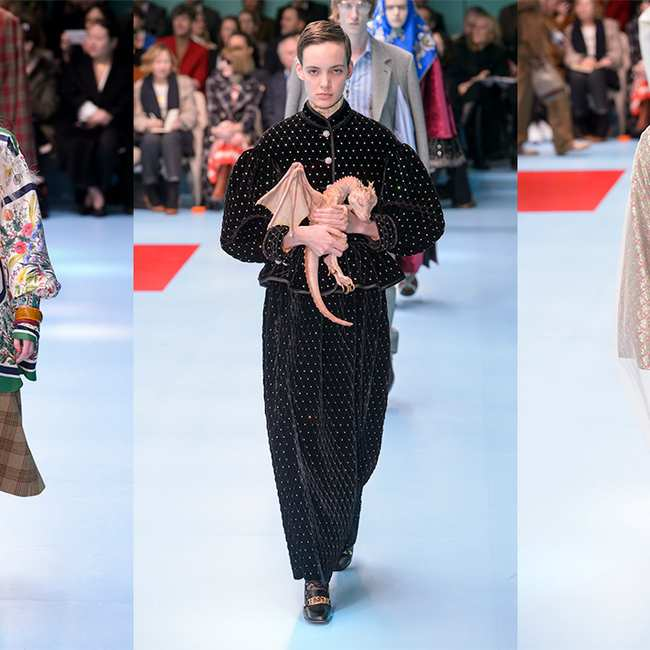 e55ef37ffae gucci models carried their own severed heads down the runway - i-D