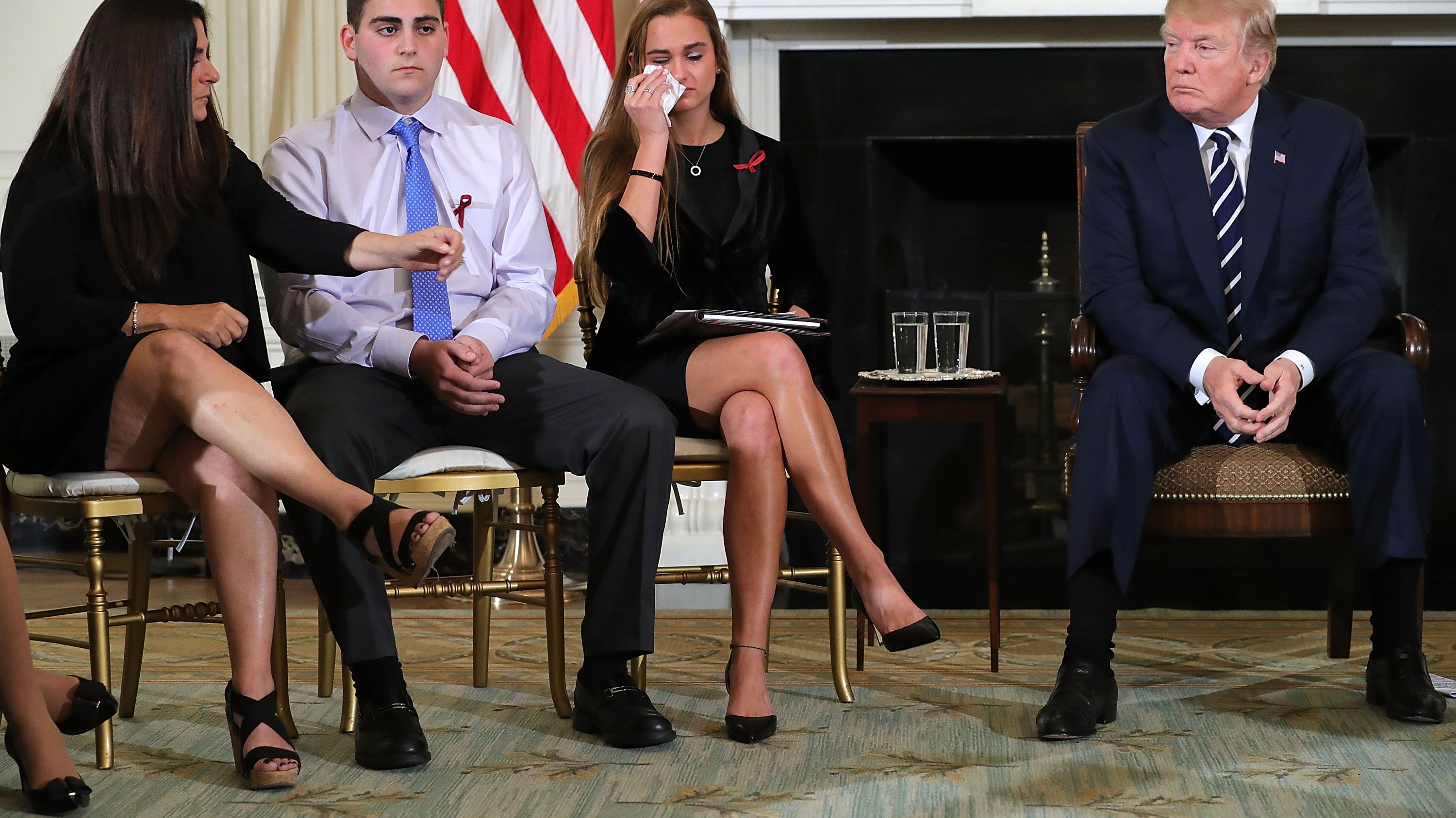 Trump Proposes Arming Teachers While Meeting With School