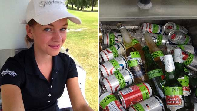6c854a93b Working as a Golf Course Beer Cart Girl Is a Sexist Nightmare - VICE
