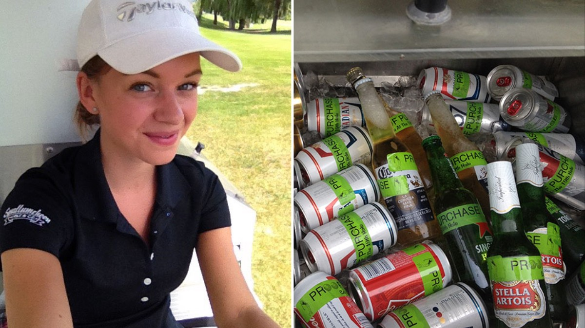 Working as a Golf Course Beer Cart Girl Is a Sexist Nightmare - VICE 2ed2f133efb7