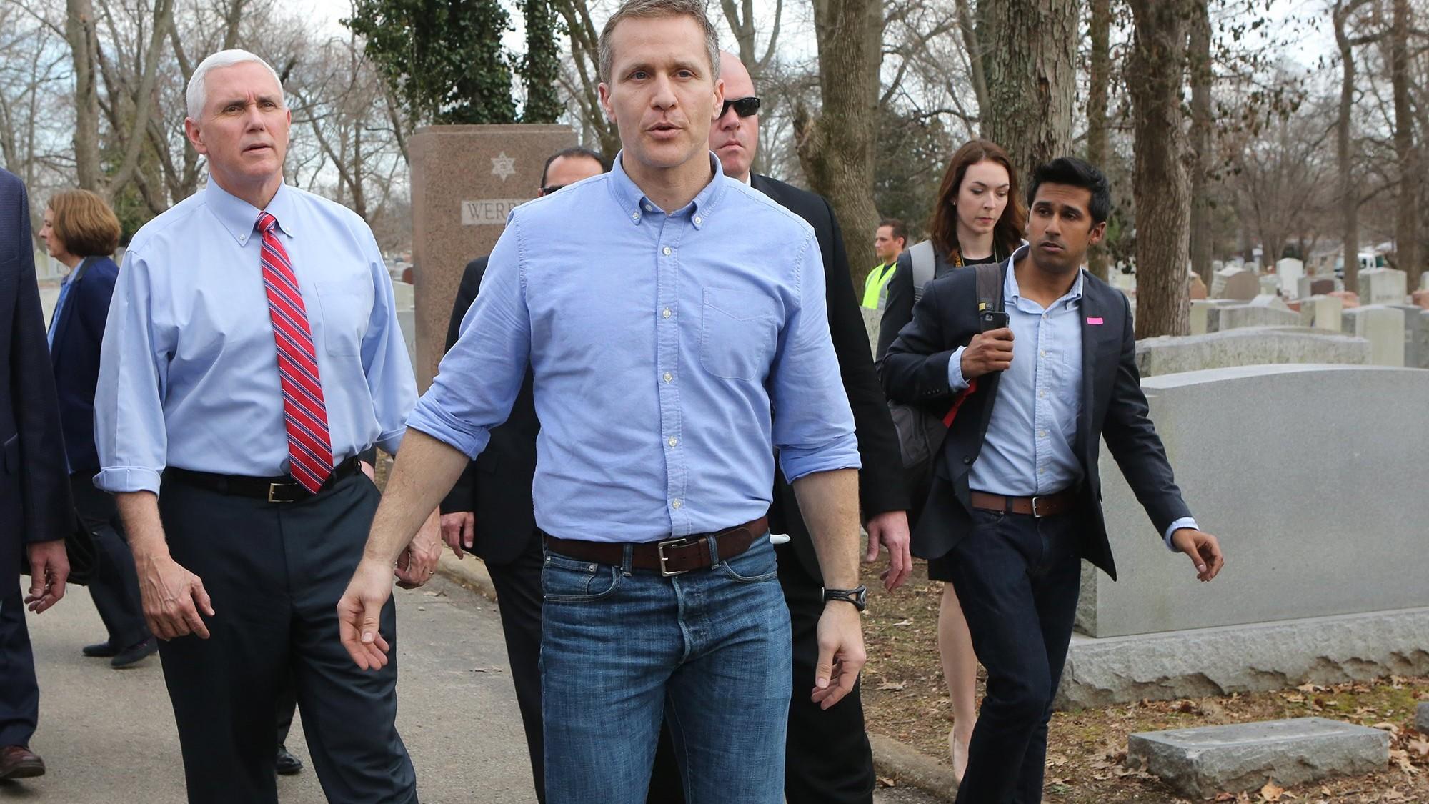 Missouri Gov. Eric Greitens was just arrested for secretly