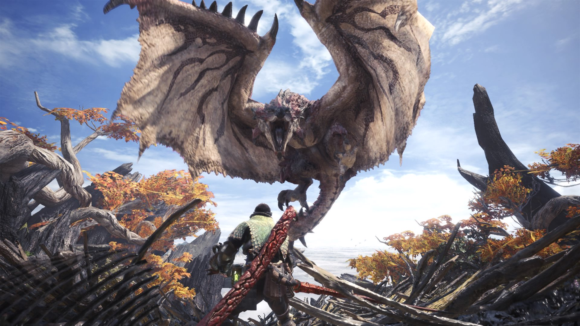 Monster Hunter: World' Trolls Are Making it Impossible to Get Loot