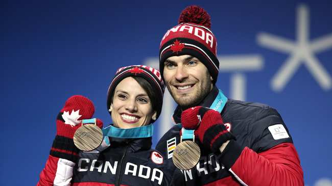 Winter Olympics Having To Relearn All >> Meagan Duhamel I Did Whatever It Took To Become An Olympian Vice