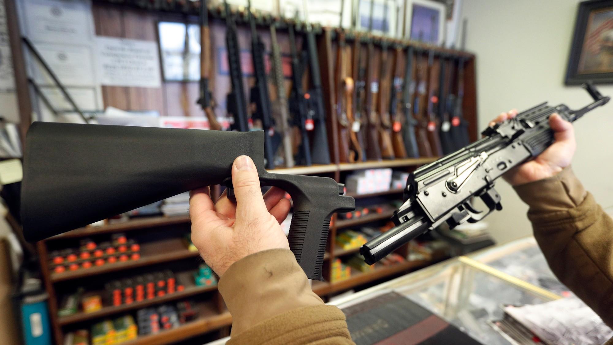 does walmart sell guns