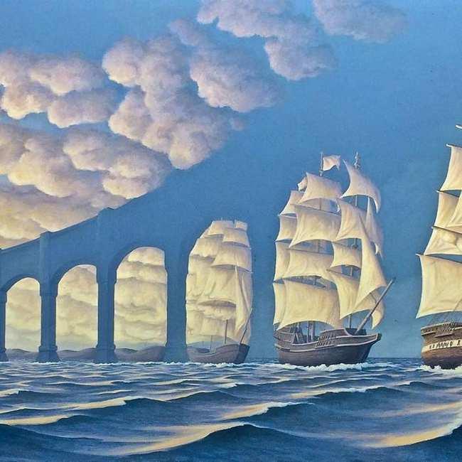 Lukisan Lukisan Surealis Modern Ini Indah Banget Salvador Dali