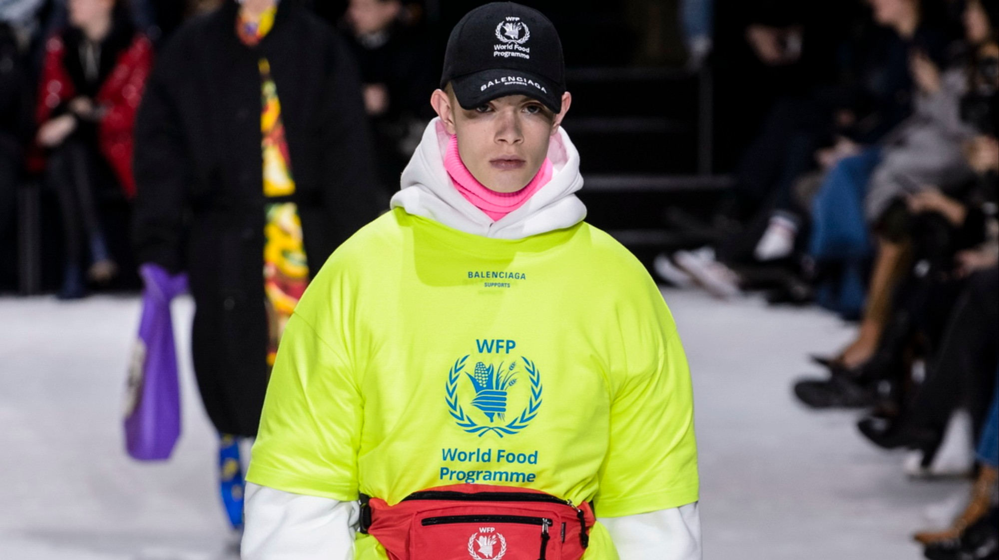 Balenciaga Partner With The World Food Programme To Draw Attention To The Recent Spike In Global Hunger I D