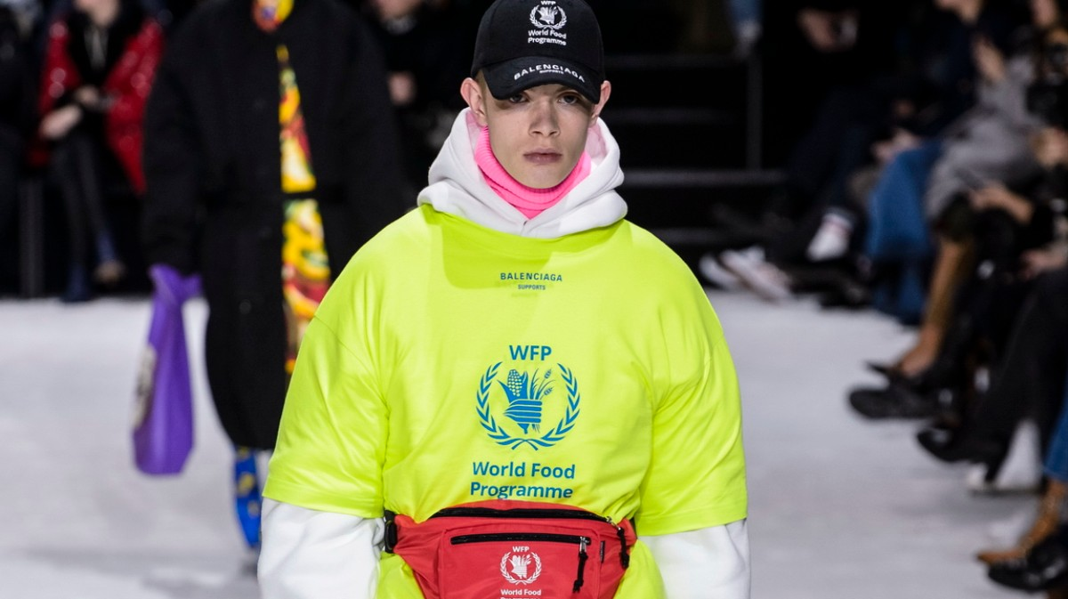 5e7ac9cc7035 balenciaga partner with the world food programme to draw attention to the  recent spike in global hunger - i-D