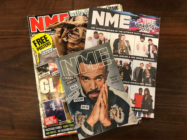 Saying A Fond, Personal Goodbye to 'NME''s Print Edition