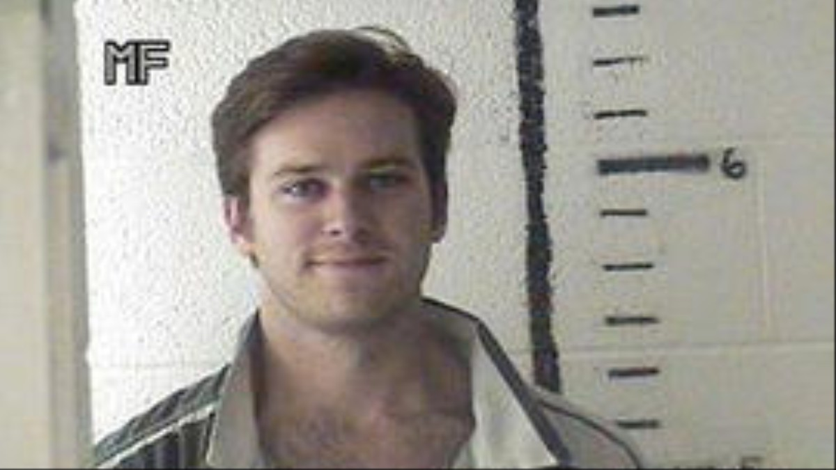 Armie Hammer Really Wants You to Know He Got Arrested for Weed One Time