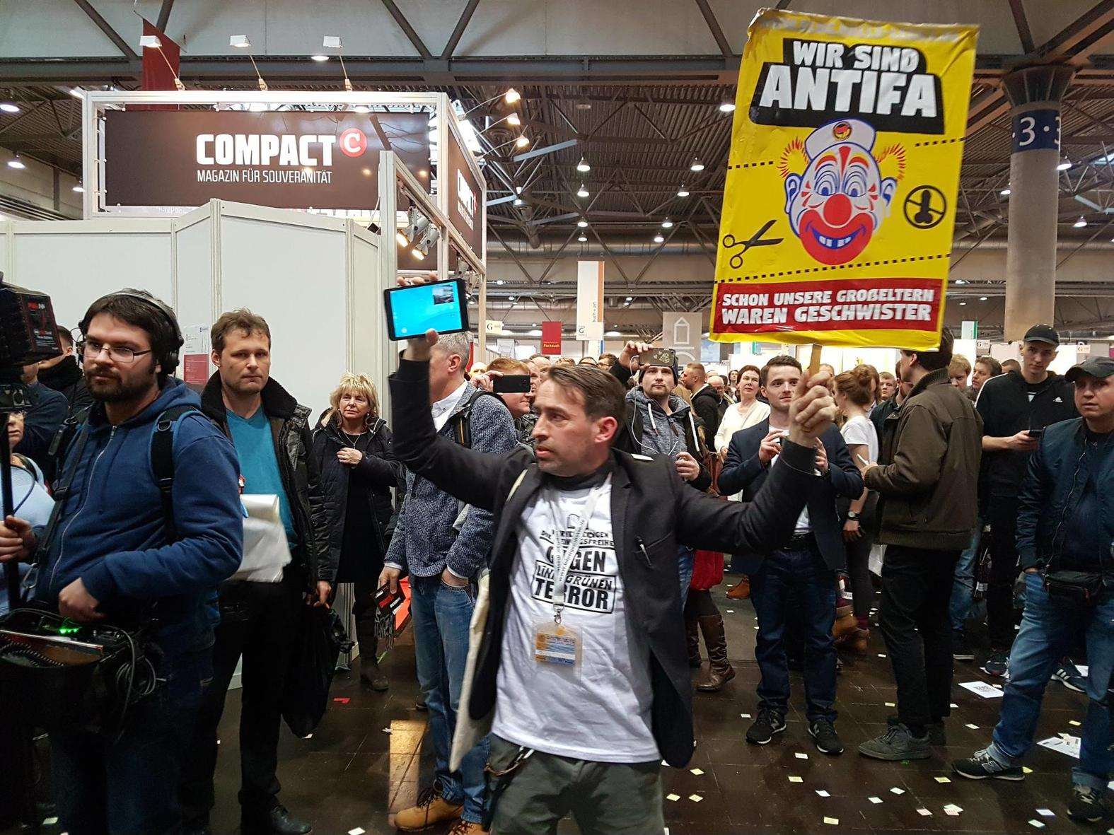 Rechtsextreme machen sich auf Leipziger Buchmesse breit – und haben damit auch noch Erfolg