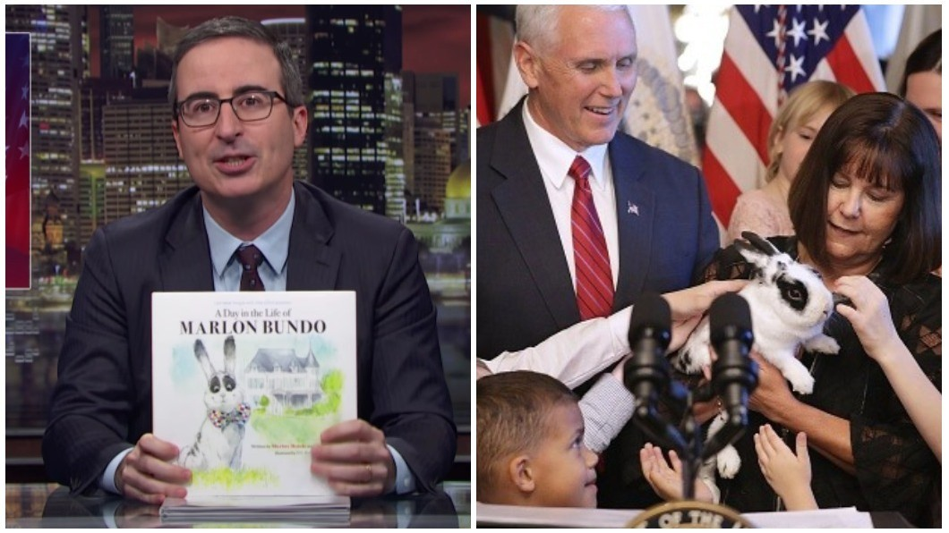 John Oliver Made Pence's Kids' Book Gay and Now It's Outselling the Original
