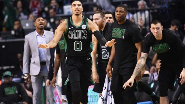 b8c67e1c1ec The Outlet Pass: Jayson Tatum Wears a Cape in the Clutch - VICE