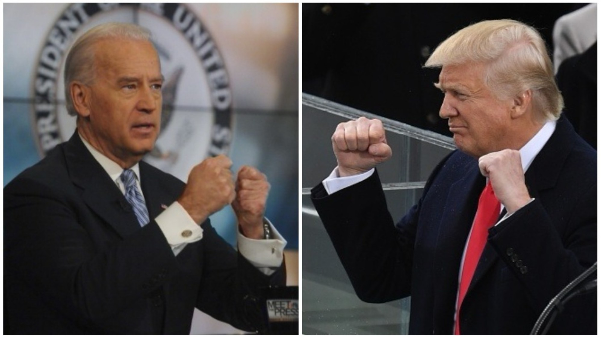 Image result for Trump vs Biden