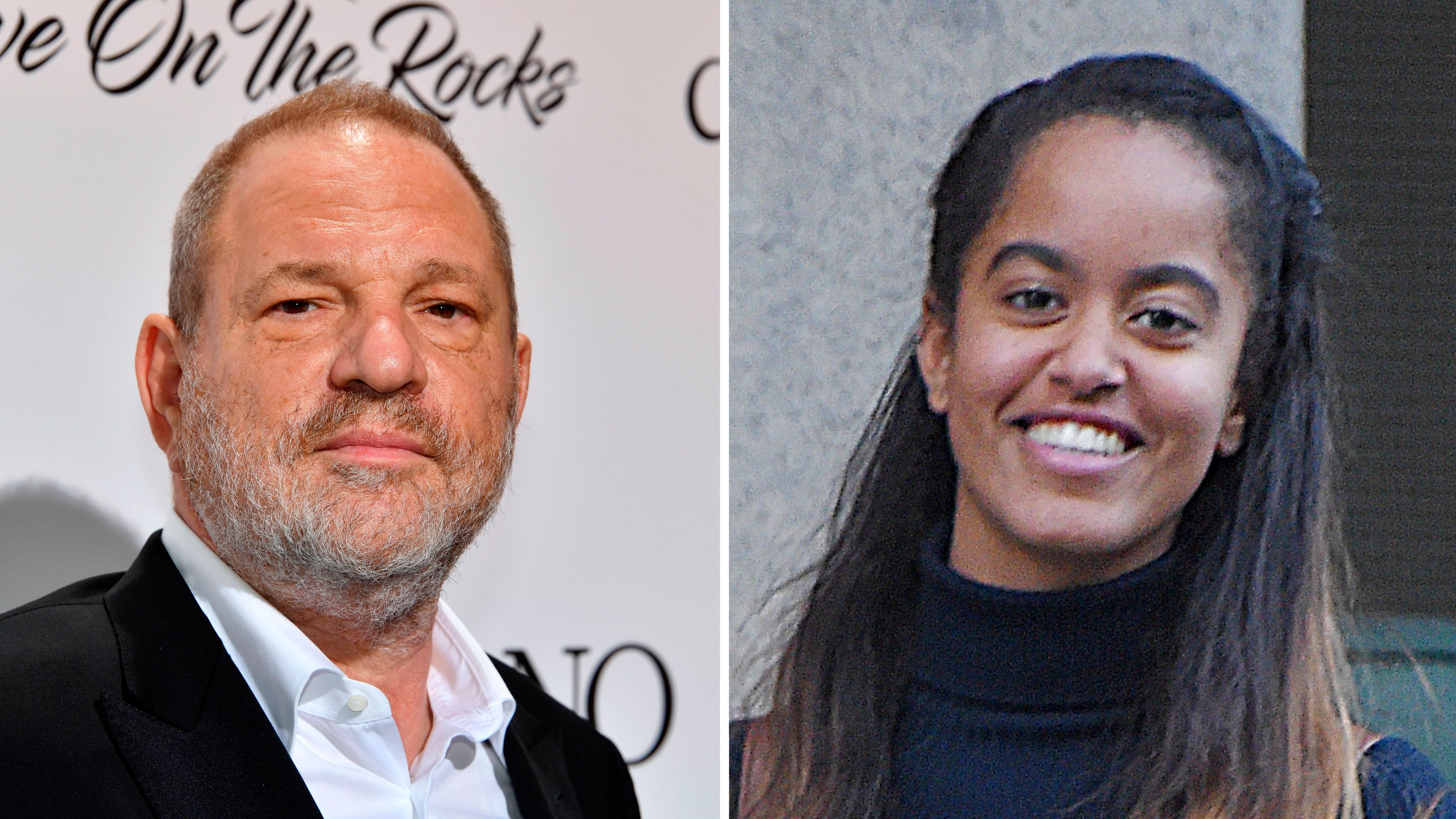 Weinstein Still Owes Malia Obama Money After Her Internship