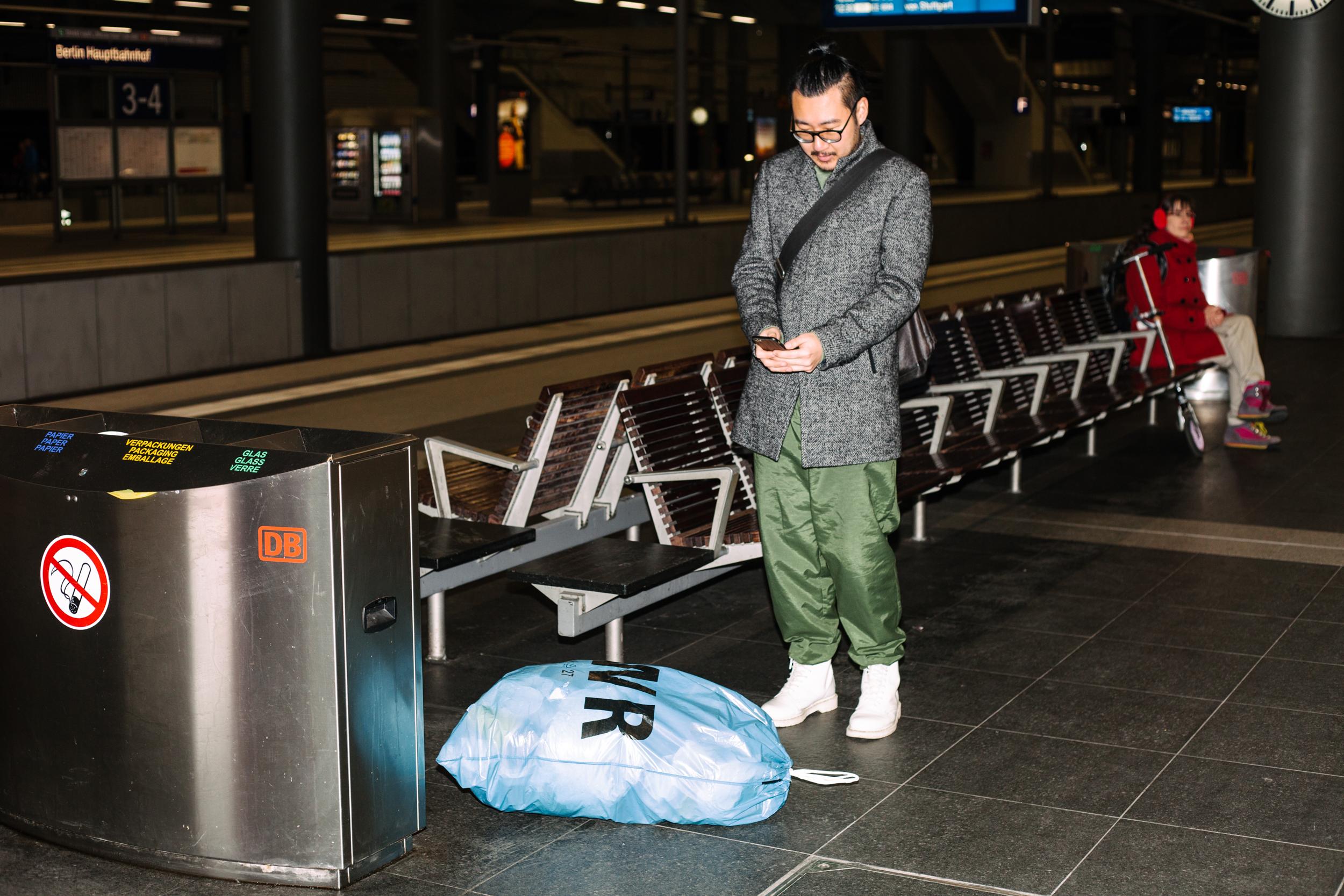 Ich War Einen Tag Lang Mullsheriff Fur Die Deutsche Bahn Vice