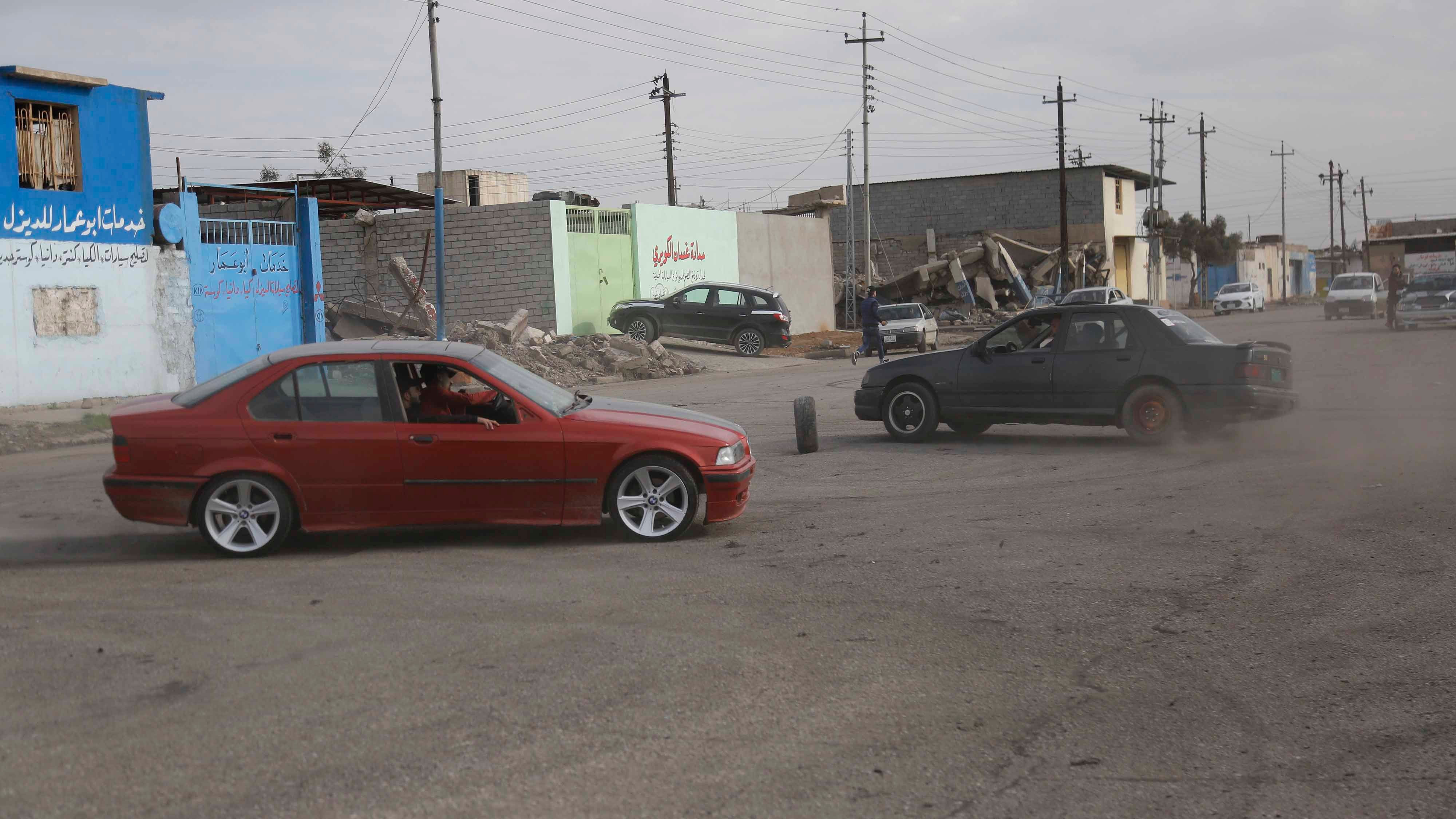 The Drifting Competitions in the Former ISIS Stronghold of Mosul