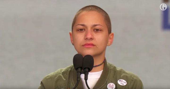 Il potentissimo discorso di Emma Gonzalez contro le armi