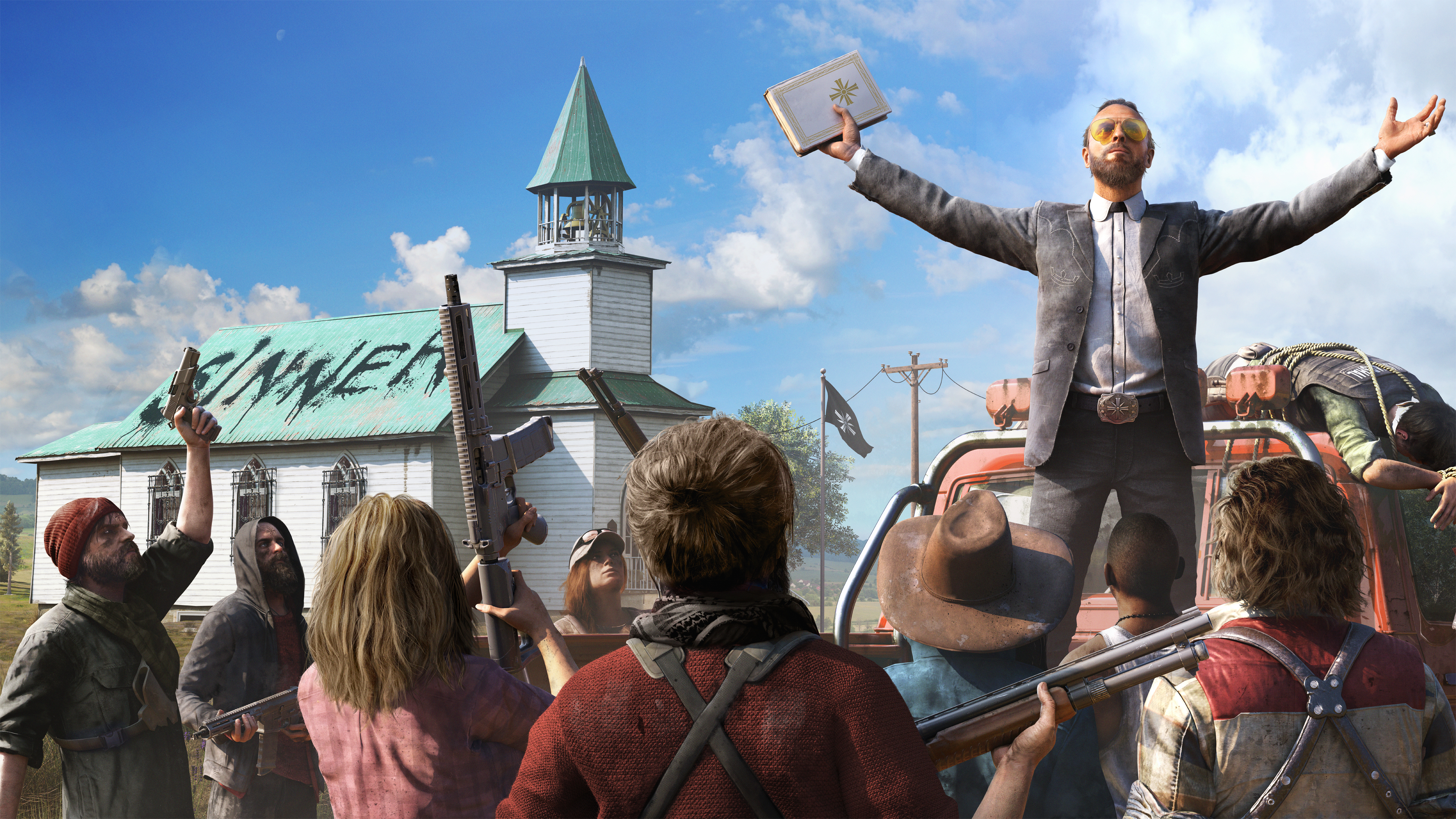 Far Cry 5 Tries To Do It All But Fails To Be Much Of Anything