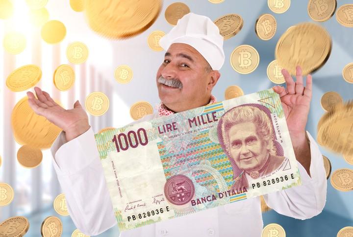 Champagne! Questa criptovaluta vuole far rinascere la Lira italiana!