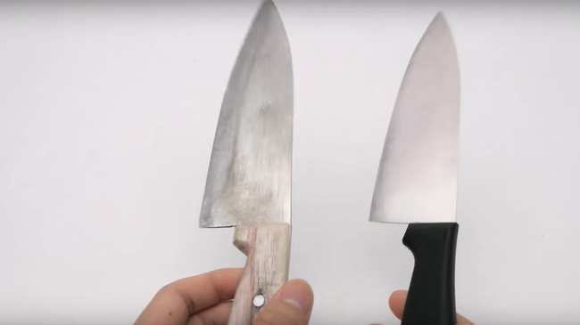 watch this dude turn a roll of aluminum foil into a razor sharp